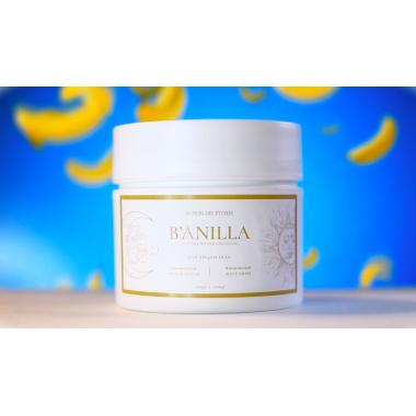 B'ANILLA банановая полиш-маска и ванильный мусс-крем